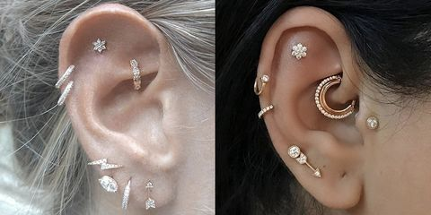 Ear Piercings Piercing Types And How Painful They Are