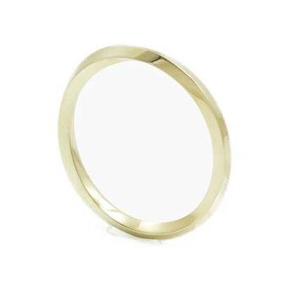 helix ring medium solid gold