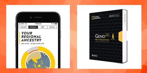 National Geographic Ancestry Test Kit