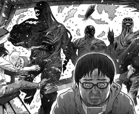 imagen del comic hell en el que se basara la serie hellbound