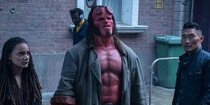 Hellboy, David Harbour, Sasha Lane, Daniel Dae Kim