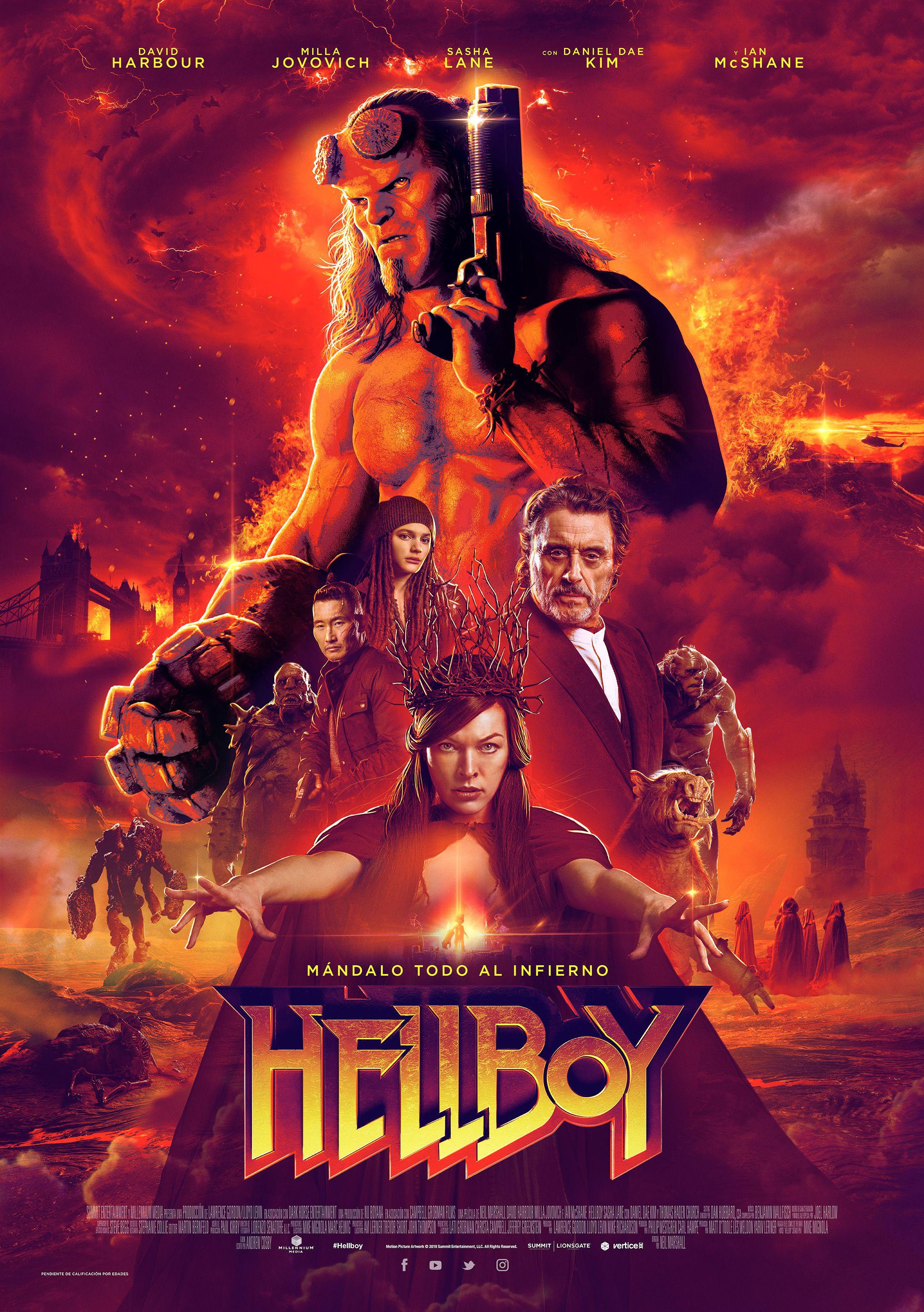 'Hellboy' fracasa en la taquilla internacional