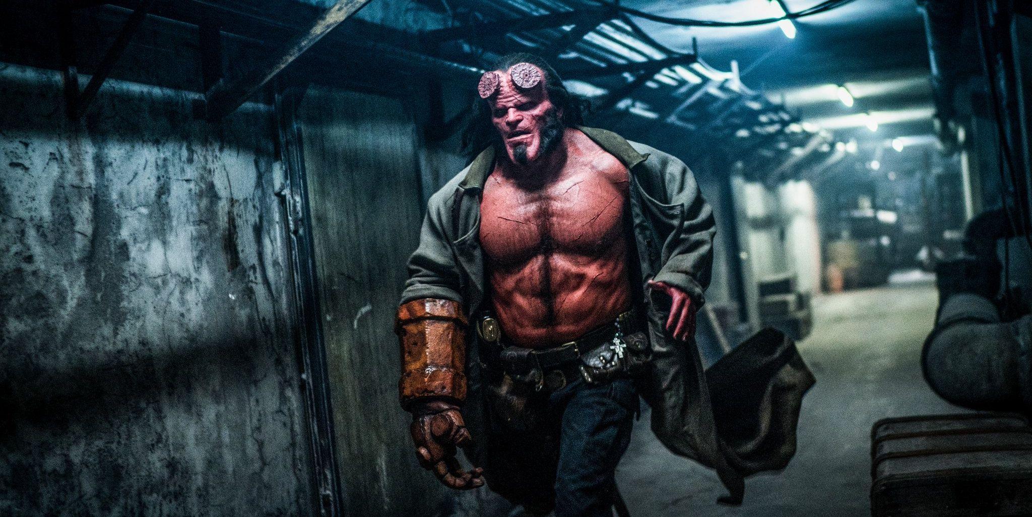 Check hier de trailer van de nieuwe Hellboy!