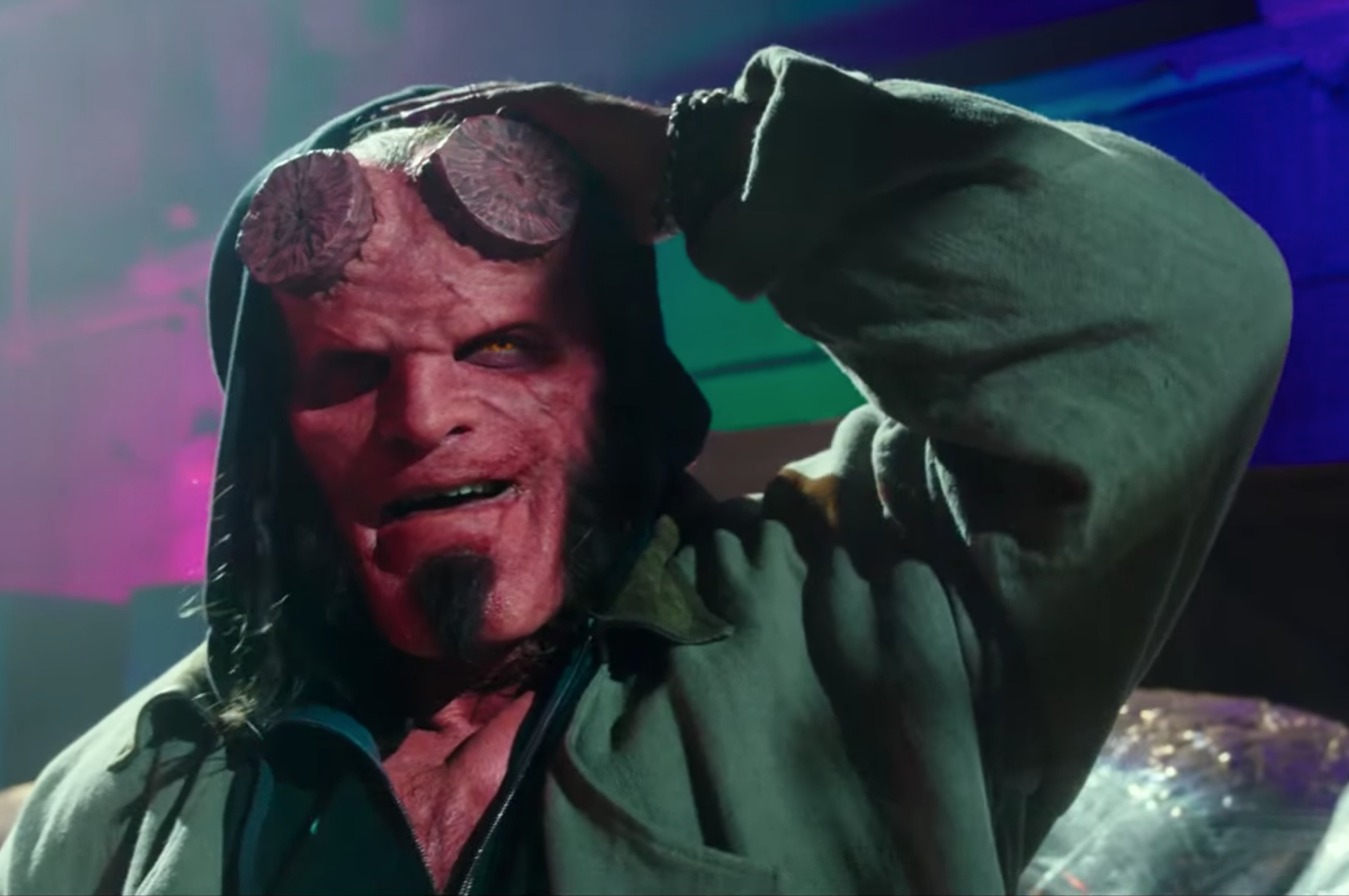 "Stranger Things star David Harbour has an ""embarrassing"" Hellboy secret"
