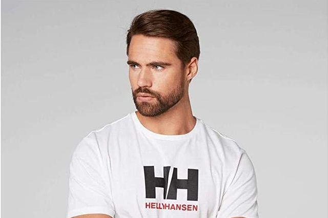 camiseta de manga corta de helly hansen