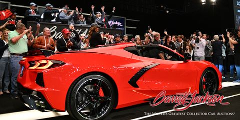 First Mid-Engine Chevy Corvette Sold for $3 Million at Auction