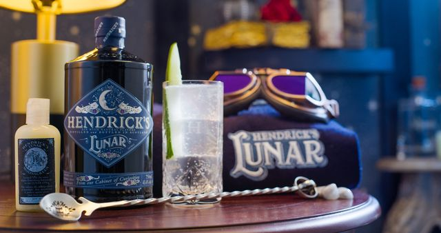 hendrick's lunar gin moonbathing kit