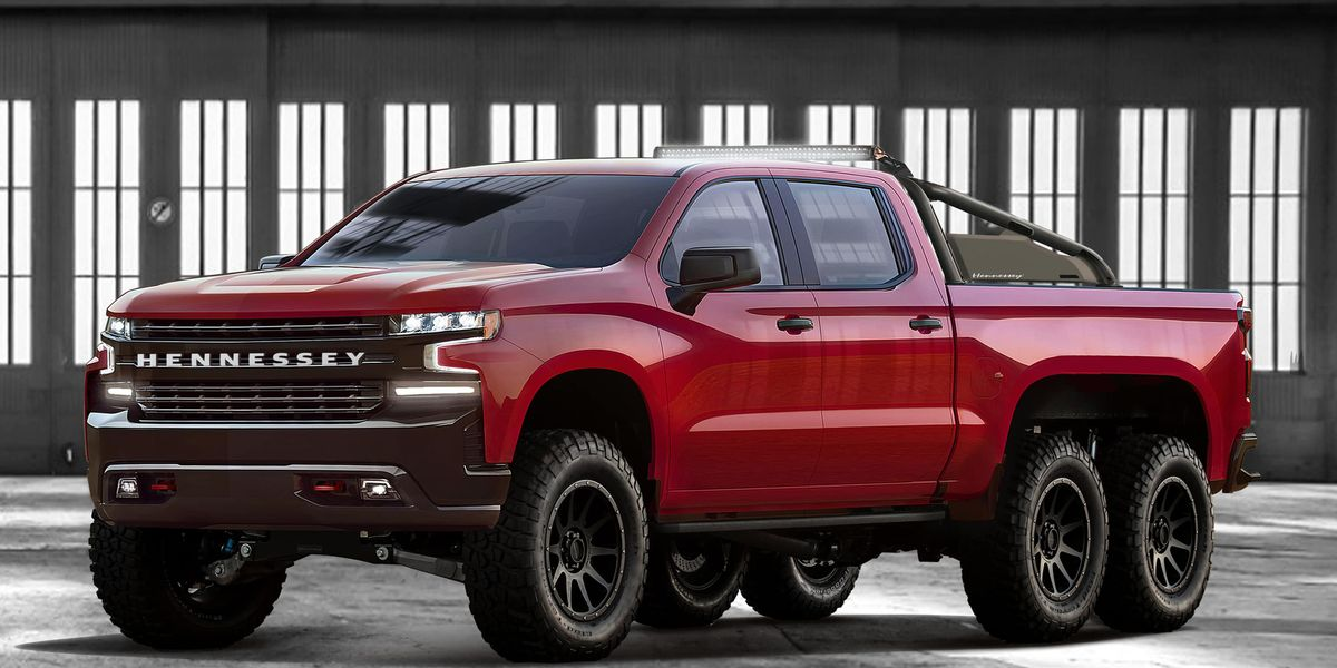 Hennessey Goliath 6x6 Is a 2019 Chevy Silverado with Six ...