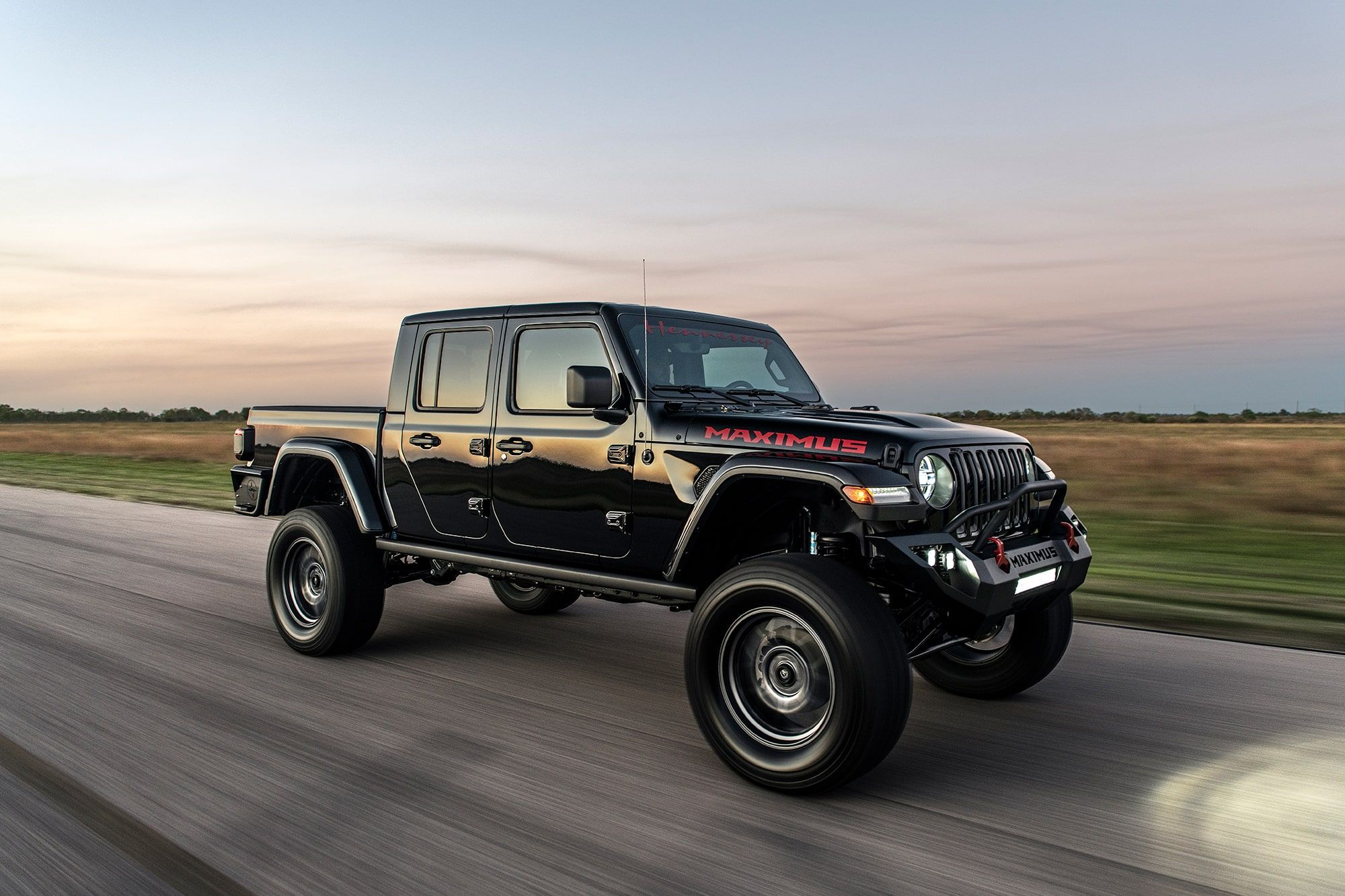 Hennessey Maximus Is A 1000 Hp Jeep Gladiator From Hell