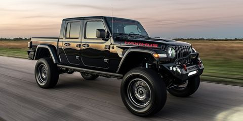 Hennessey Maximus Is a 1000-HP Jeep Gladiator from Hell