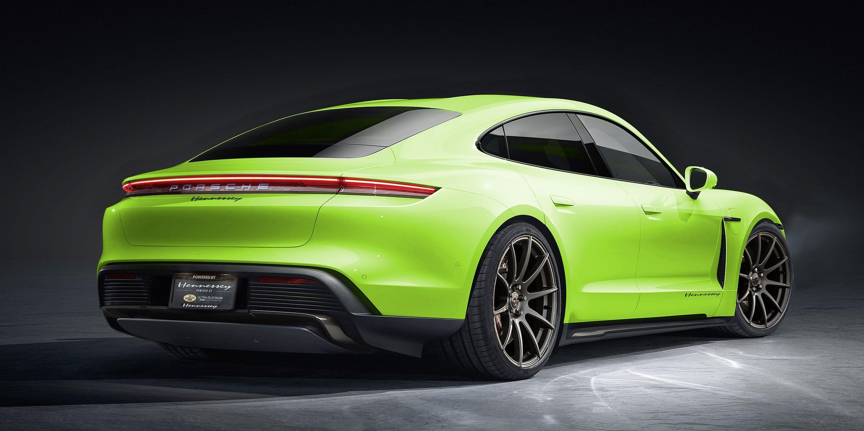 Tuner Hennessey Plans Power Surge For Porsche Taycan Ev