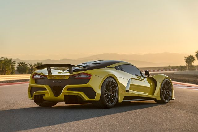 venom f5 sports car