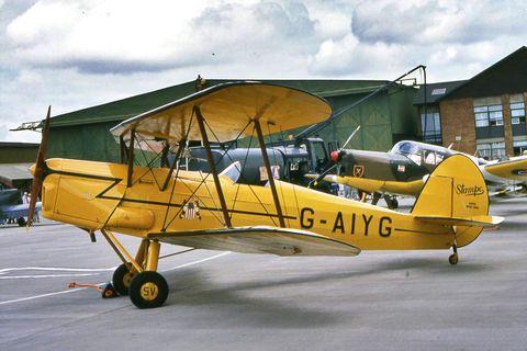 het vliegtuig waarmee ewout henny neerstortte