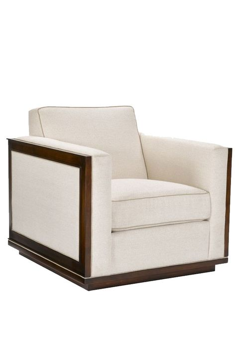 Furniture, Chair, Club chair, Beige, Leather, Sleeper chair, Comfort, Couch,