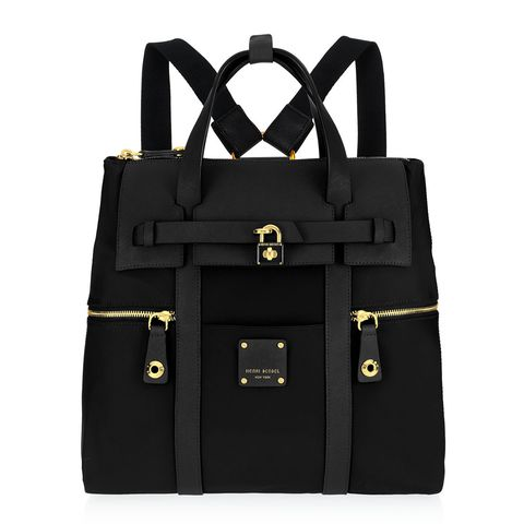 henri bendel jetsetter backpack black