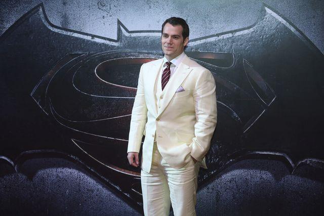henry cavill promocionando 'superman'