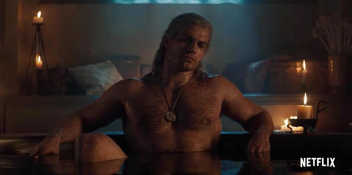 Exclusive The Witcher Boss Reacts To That Sexy Bathtub Meme