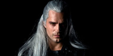henry cavill the witcher serie