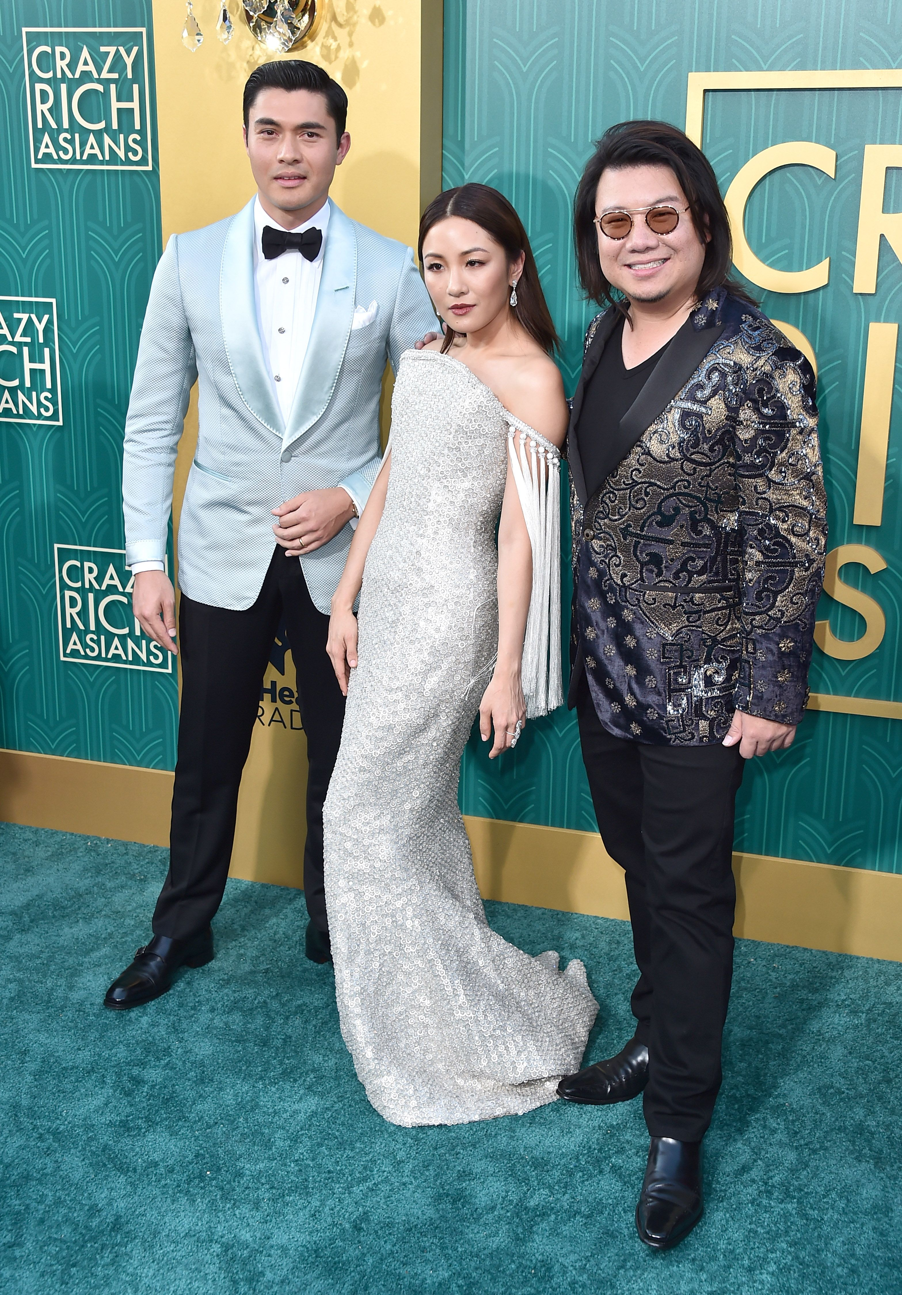 Constance Wu Wears Ralph & Russo Dress to Crazy Rich Asians