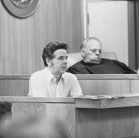 Trial Scene for Mass Murderer Henry Lee Lucas