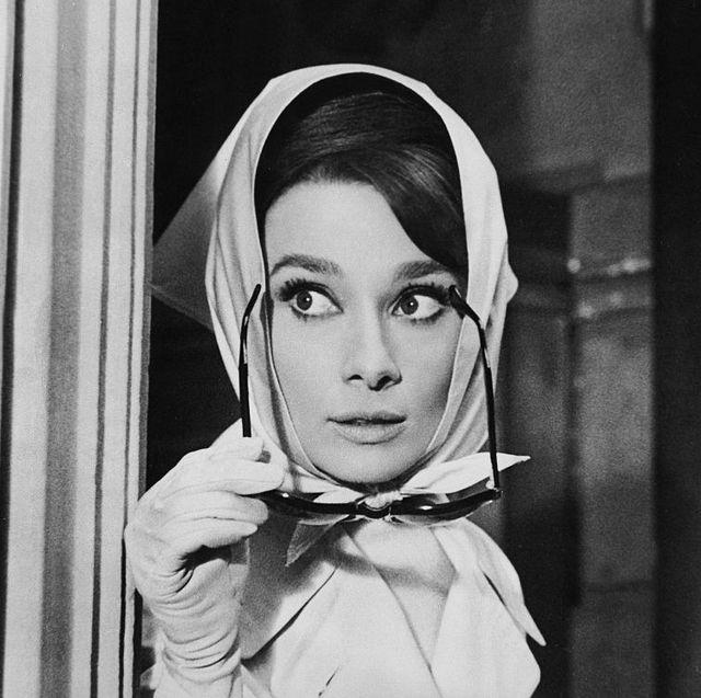 Hepburn, Audrey - Schauspielerin, in dem Film 'Charade'