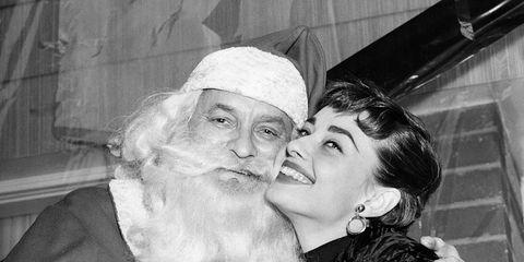 Hepburn, Audrey - Schauspielerin, bei einer Benefizveranstaltung in New York