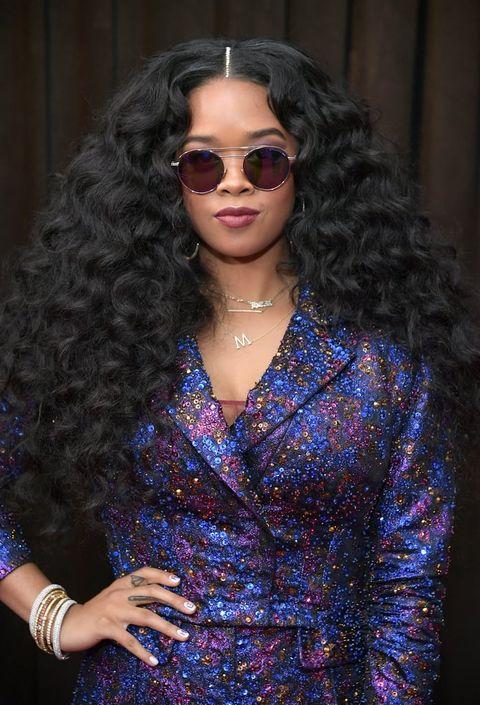 H.E.R. Grammys Hair
