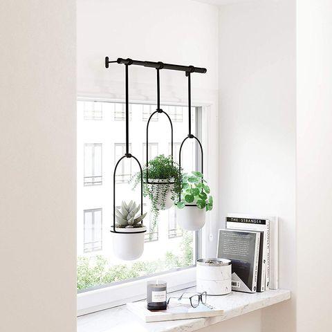 umbra triflora triple hanging window planter