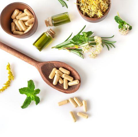 herbal and alternative medicine concept
