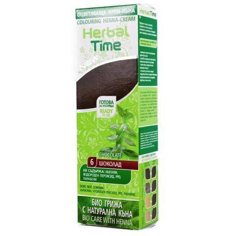 herbal time bio care natuurlijke haarverf zonder ammoniak, waterstofperoxide en ppd