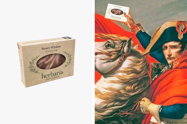 herbaria brown windsor soap