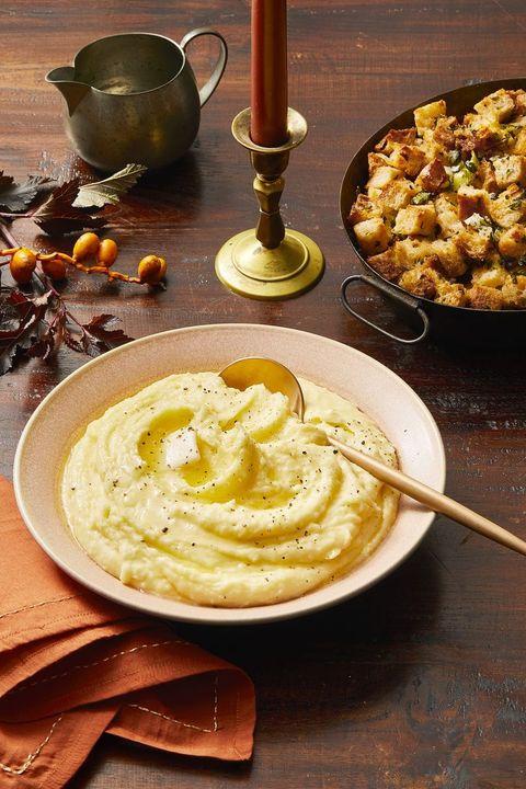 mashed potato recipes   herb infused mashed potatoes