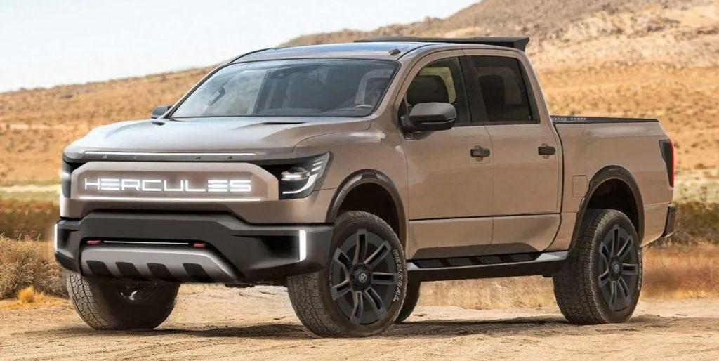 Hercules Alpha: El nuevo pick-up eléctrico con el sello de Pininfarina