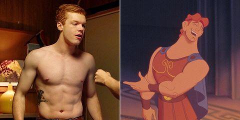 Hercules Cameron Monaghan