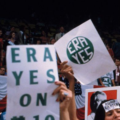 Rally Supporting Equal Rights Amendment