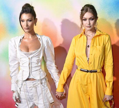Bella y Gigi Hadid enla gala500 de Business of Fashion, enNueva York