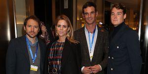 Manuel Martos, Amelia Bono, José Bono y Aitor Gómez