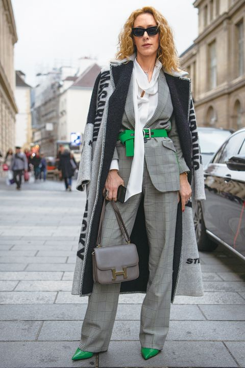 Clothing, Street fashion, White, Fashion, Coat, Snapshot, Outerwear, Trench coat, Footwear, Jeans,