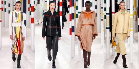 Clothing, Fashion, Fashion model, Street fashion, Outerwear, Fashion design, Footwear, Coat, Overcoat, Haute couture,