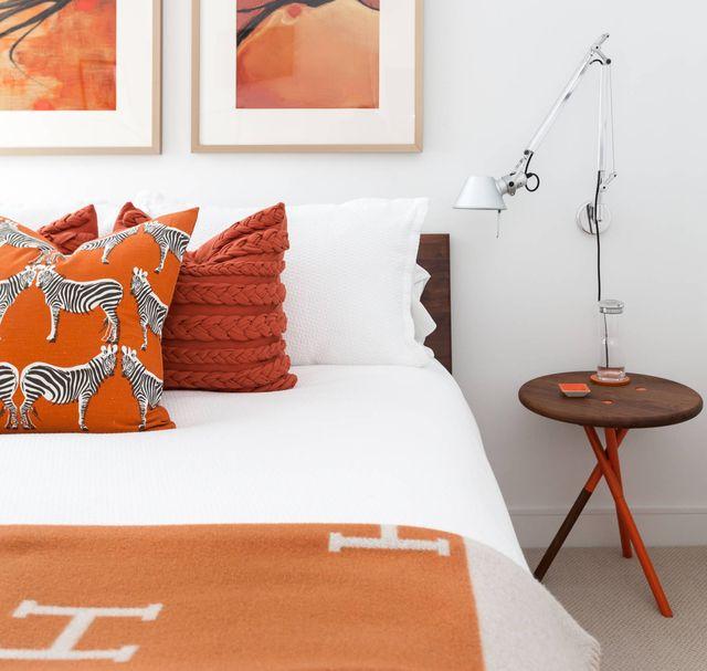 dormitorio terracota