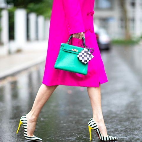 hermes bottega bag street style