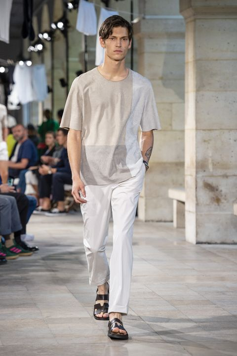 Sfilate Uomo Parigi: Hermès primavera estate 2019