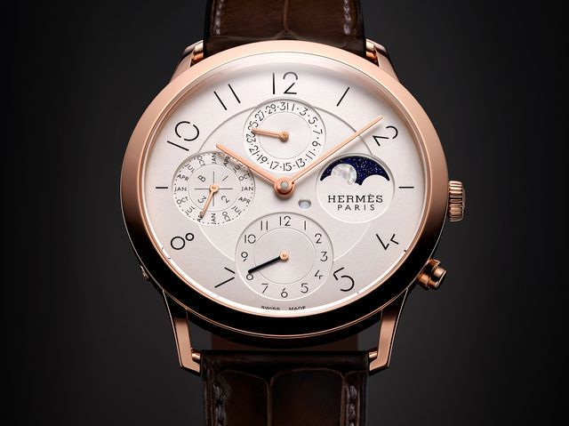 Hermes Slim d'Hermes Perpetual Calendar