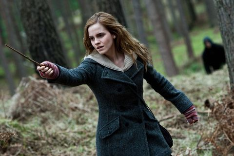 hermione granger en la saga 'harry potter'