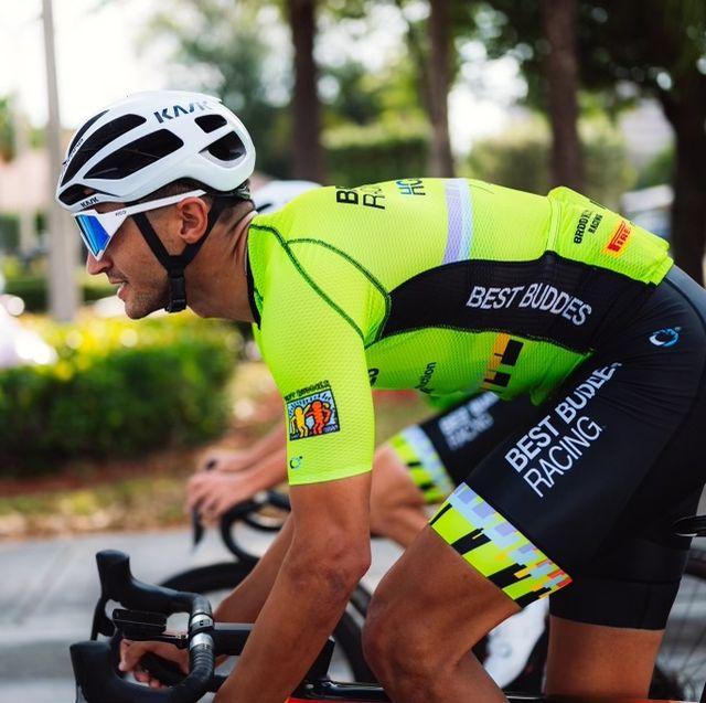 cyclist michael hernandez best buddies racing