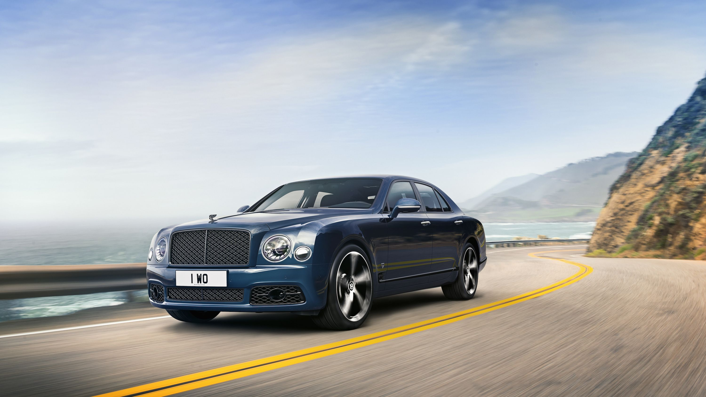 Bentley Is Sending Off the Mulsanne With a Special Edition Honoring Its Unique 6.75-L V-8