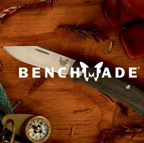 a pocket knife with the word benchmade over it
