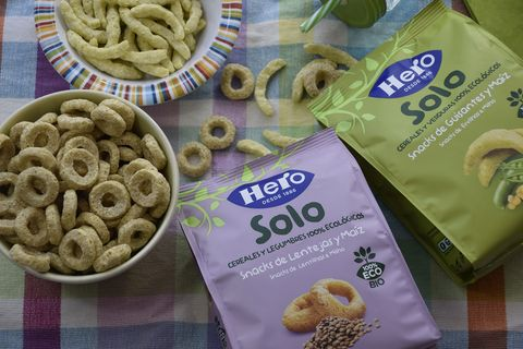 Snacks de legumbres y cereales Hero Solo