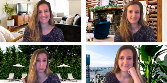 Zoom Video Calls Are Way More Stylish With These West Elm Backdrops