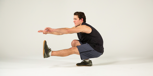 ピストルスクワット,    片足スクワット,pistol squat, how to do pistol squat, lower body workout, single-leg squat, lower body workout, hero move